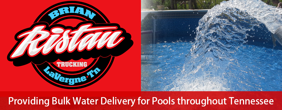 Water Hauling Rural Water Delivery Pool Filling Swimming Pool Water